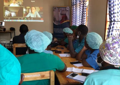 Remote Primary Eye Care Training in Southern Tanzania