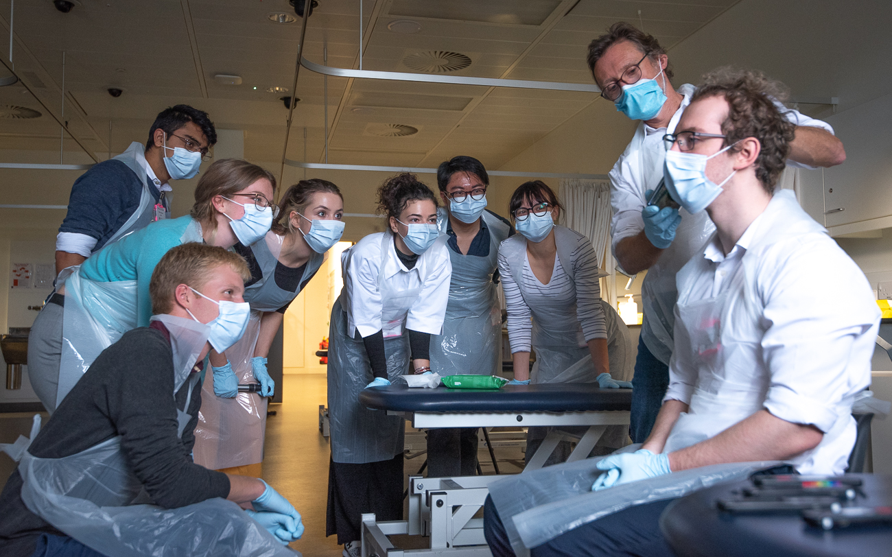 Medical Students Using Arclight