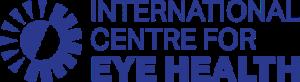 International Centre for Eye Health Logo