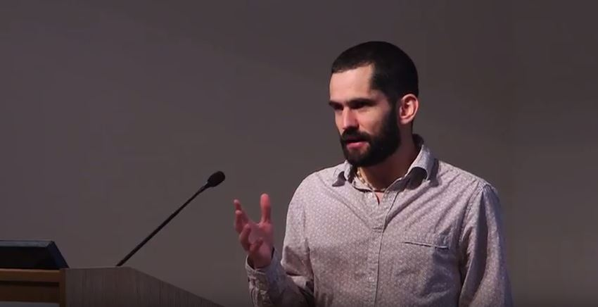 Video of Derek Sloan Presenting at the Royal Society of Tropical Medicine and Hygiene