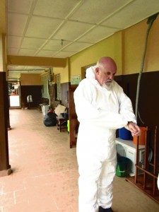 Andy Ramsay honoured for his work controlling Ebola