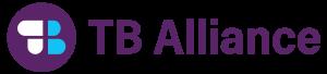 TB Alliance Logo  links to website